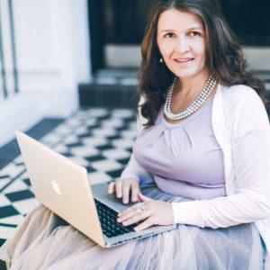 Женщина с ноутбуком, бизнес, портрет